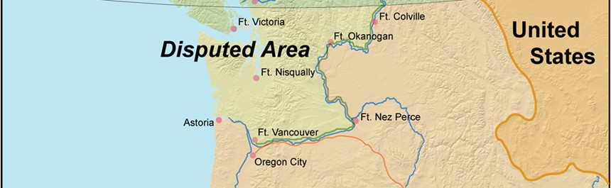 1846 Dispute Settled Over Oregon Territory