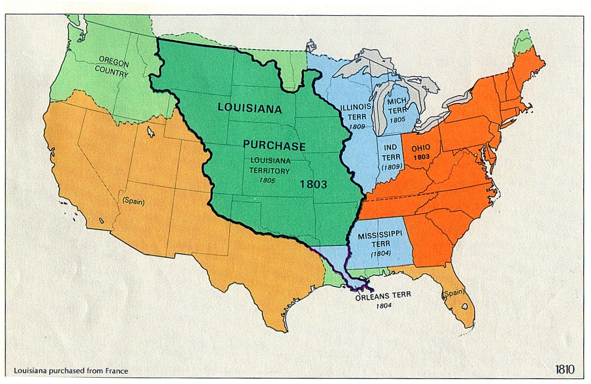 Louisiana Purchase Savages Scoundrels - Louisiana us representative map