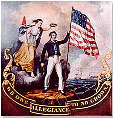 Poster -war -1812-no -allegiance -to -no -crown -2