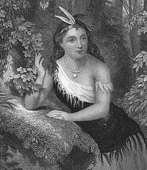 1613 - Pocahontas marries John Rolfe | Savages & Scoundrels
